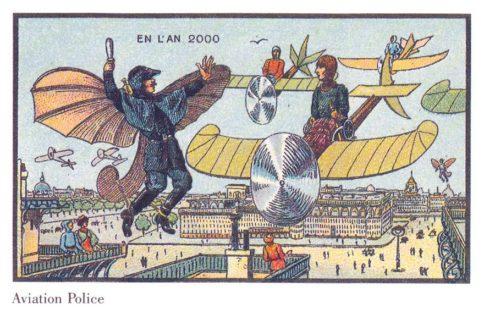 Come ci immaginavamo il futuro (l'anno 2000) 100 anni fa