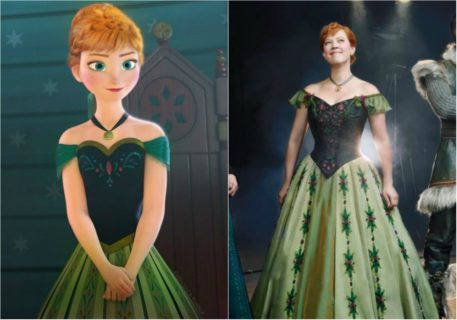 """Arriva """"Frozen, il musical"""" e Kristoff cambia pelle"""