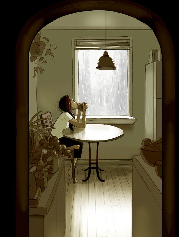 32 immagini che mostrano la bellezza di vivere da sola