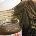 La tinta di capelli si fa dolce: da oggi si utilizza la Nutella!
