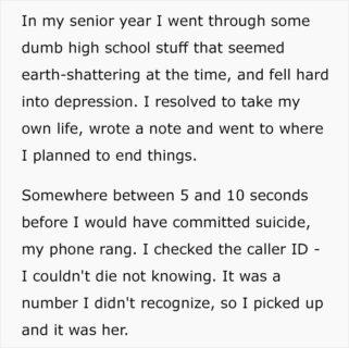 """Come in un film: """"Mi stavo suicidando quando è arrivata quella telefonata"""""""