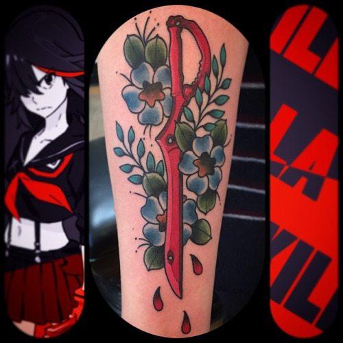 35 bellissimi tatuaggi ispirati ai manga giapponesi