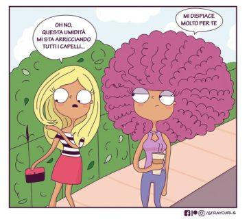 La difficile vita di chi ha i capelli ricci in 26 illustrazioni
