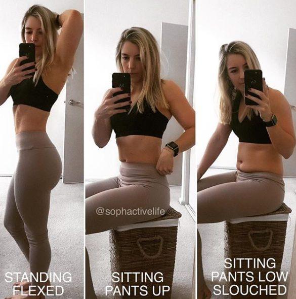 """""""Questo è il mio sedere. E anche quest'altro"""": il messaggio della fitness blogger Sophie Allen"""