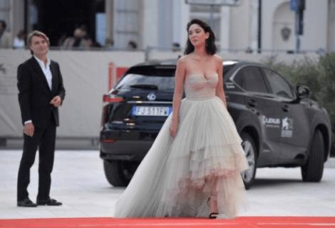 Festival di Venezia: la più bella è Micaela Ramazzotti