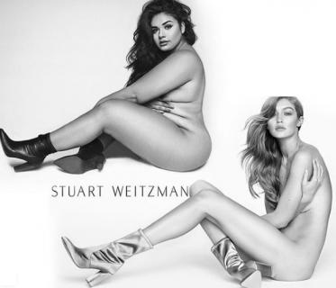 Diana Sirokai, la modella plus size che ricrea le foto delle top model