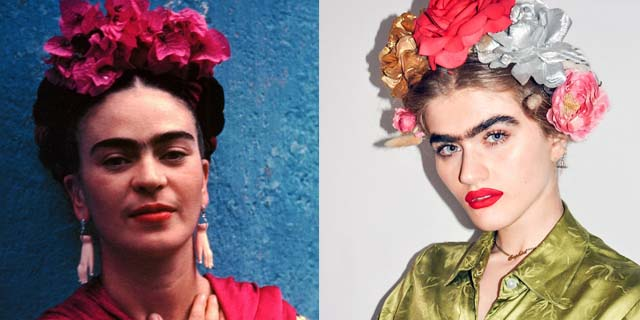 Il monociglio di Sophia Handjipanteli, la modella che sfida gli stereotipi