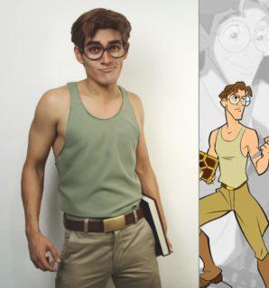Jonathan, il ragazzo che si trasforma nei principi Disney e non solo
