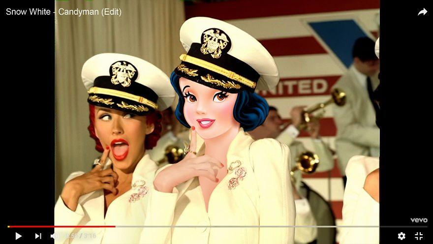 Se le cantanti famose fossero principesse Disney