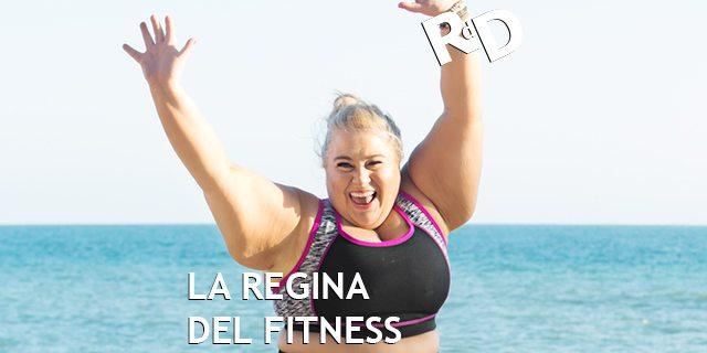 "Sarah Sapora è la regina del fitness ""plus size"""