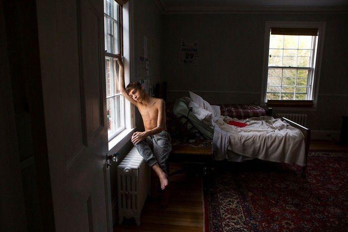 "25 foto di americani ""spiati"" in camera da letto"