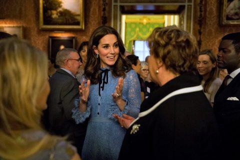 Kate Middleton, prima uscita ufficiale dopo l'annuncio di gravidanza