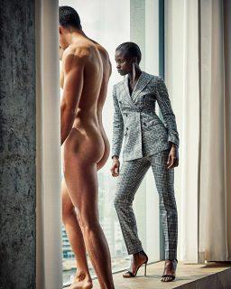 """Come sarebbe la pubblicità di moda se gli uomini fossero """"usati"""" come le donne (e viceversa)"""
