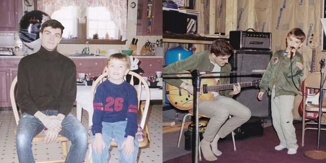 Questo ragazzo ha aggiunto se stesso ora nelle foto di quando era bambino