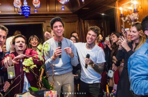 Fedez e Ferragni: ecco come sono andati i festeggiamenti per i 28 anni e chi c'era