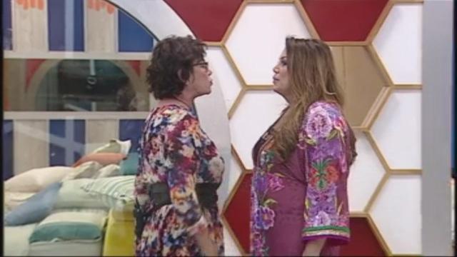 GF Vip, lite furibonda tra Corinne Cléry e Serena Grandi per il marito morto