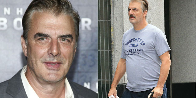 Chris Noth, cos'è successo a Mr. Big, con bastone per le strade di New York