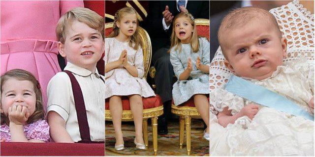 Piccole principesse e piccoli principi crescono: i baby reali nel mondo