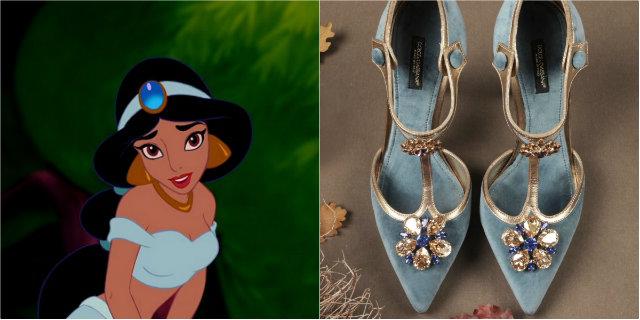 Da Zara a Jimmy Choo, dalla Sirenetta a Cenerentola: 12 scarpe che piacerebbero alle principesse Disney