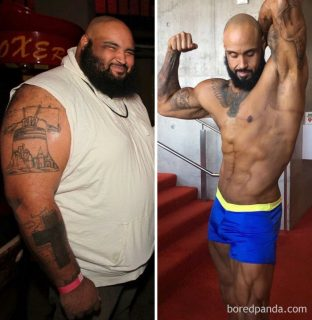 23 immagini mostrano come si cambia dopo aver perso molto peso