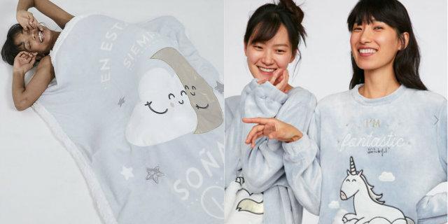 Oysho lancia la collezione di pigiami (e non solo) di Mr. Wonderful
