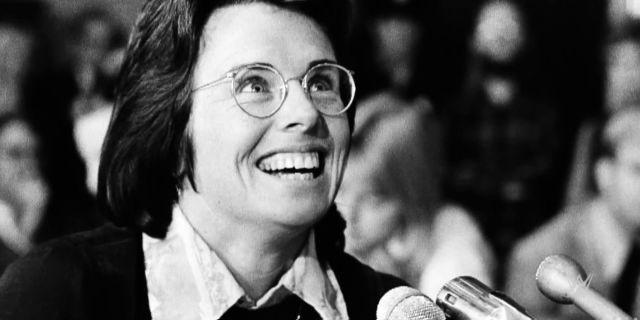 """Billie-Jean King: chi è la donna che ha ispirato il film """"La battaglia dei sessi"""""""