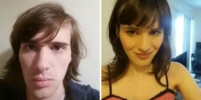 Documenta in 26 foto la sua incredibile trasformazione da uomo a donna in 17 mesi