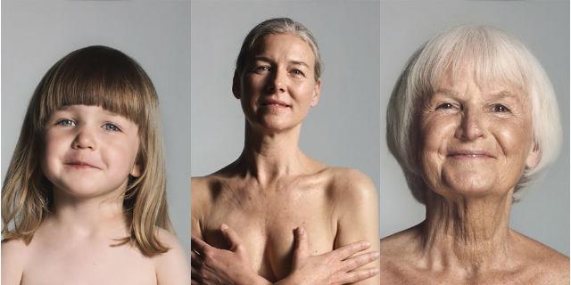 Un'intera vita (e la bellezza senza filtri di una donna) in 60 secondi