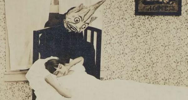 """Le spaventose """"cartoline educative"""" sull'uomo nero per i bambini a inizio '900"""