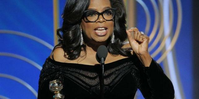 Golden Globe, il discorso di Oprah Winfrey sulle donne è da standing ovation