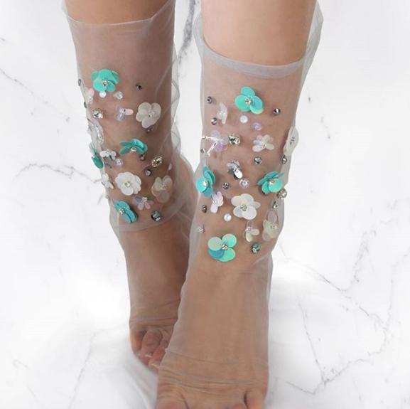 Tulle socks: i 15 calzini in tulle più belli per la primavera 2018