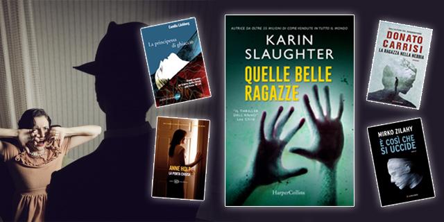 """5 thriller che non puoi non leggere se ami """"Uomini che odiano le donne"""""""