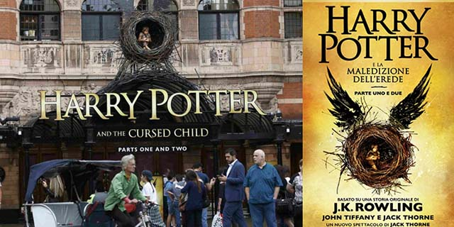 Harry Potter nuovo libro già sold out ecco data italiana dove prenotarlo