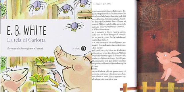 Libri per bambini la tela di carlotta