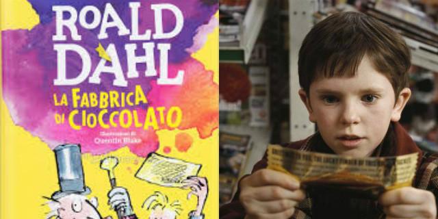 libri per bambini la fabbrica di cioccolato
