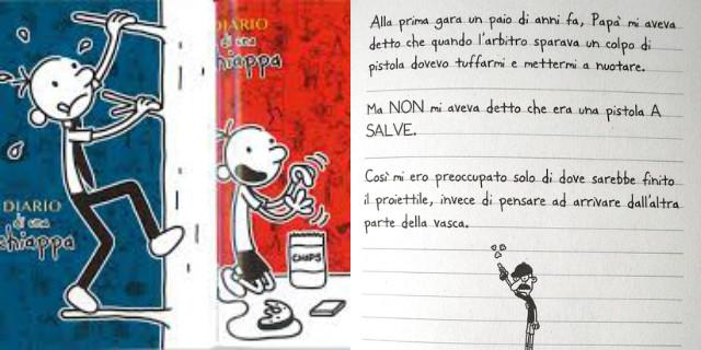 Libri per bambini il diario di una schiappa
