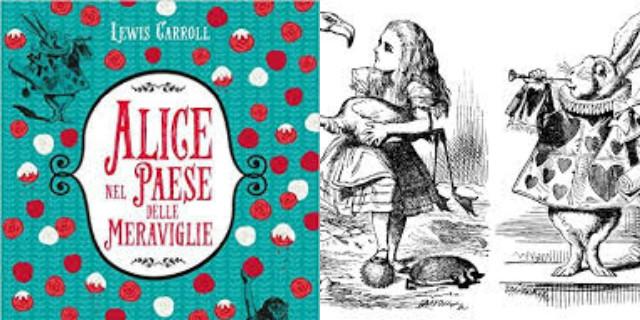 Libri per bambini Alice nel paese delle meraviglie