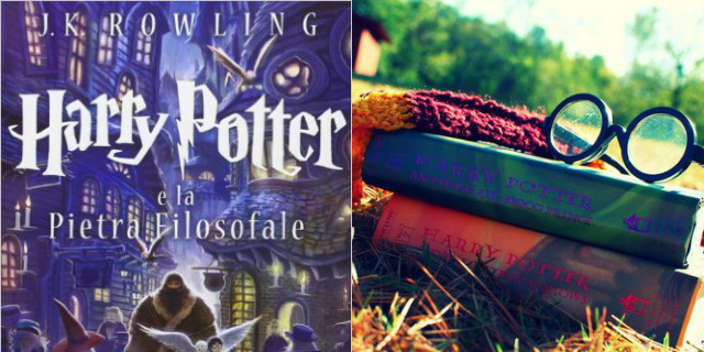 Libri per bambini Harry Potter