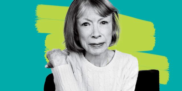 """Joan Didion: """"Dall'attimo in cui hai un figlio, non smetti mai di avere paura"""""""
