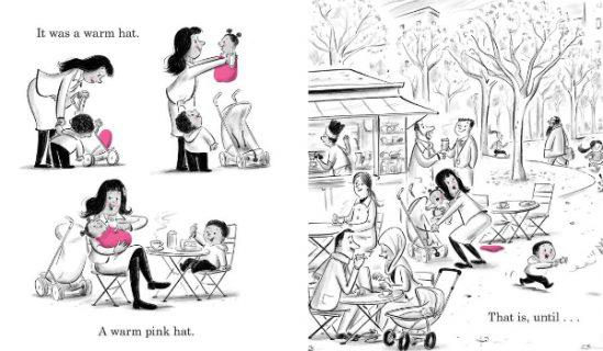Il cappello rosa delle femministe diventa un fumetto per bambine ribelli