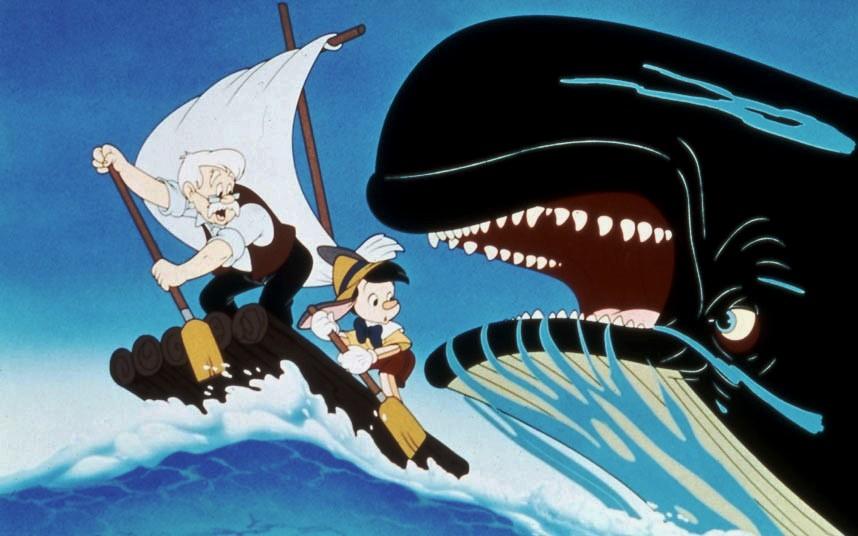 Pinocchio: la balena che non c'è e quel macabro finale che fu costretto a cambiare