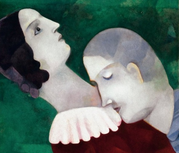 Marc Chagall e Bella, l'amore è un cielo blu (con una capra che suona il violino)