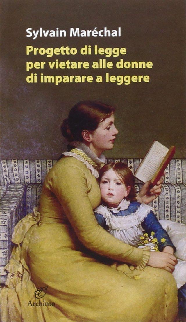 Progetto di legge per vietare alla donne di imparare a leggere