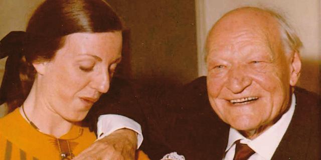 L'amore tra Giuseppe Ungaretti e Bruna Bianco, di 52 anni più giovane di lui