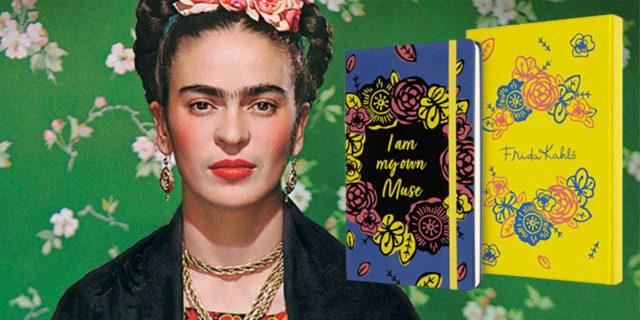 Moleskine dedica una collezione limitata a Frida Kahlo e ai suoi colori
