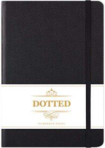 Bullet Journal- Quaderno Punteggiato con Copertina Rigida