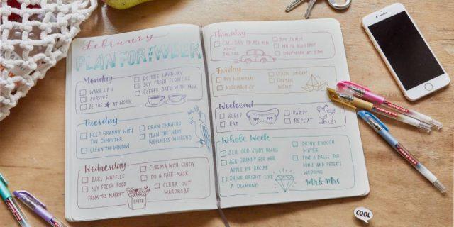 Bullet journal: molto più di un'agenda, ma un metodo che riprogramma la vita