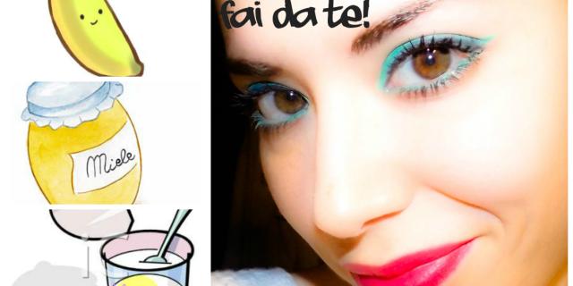 Maschera Viso Anti-age Fai da Te (mi aiuta la mia sorellina!)