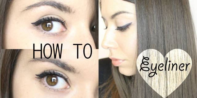 Eyeliner: come applicarlo senza sbagliare! VIDEO TUTORIAL