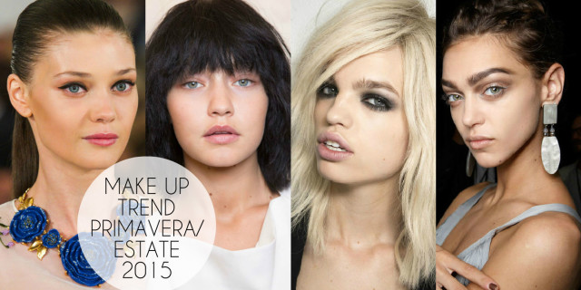 I 4 Trend makeup 2015 più cool della primavera/estate! [FOTO E VIDEO]
